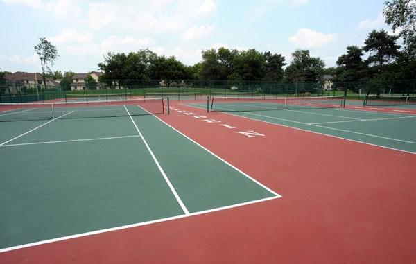 Richard A. Sanders Tennis Courts